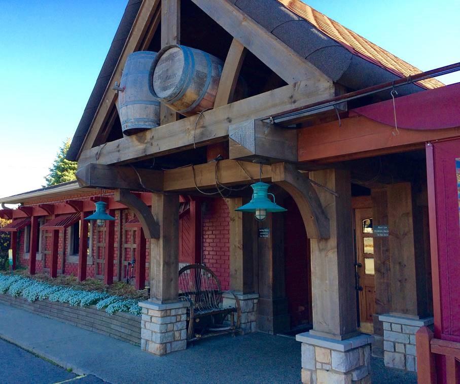 Front entrance of Filippa's restaurant